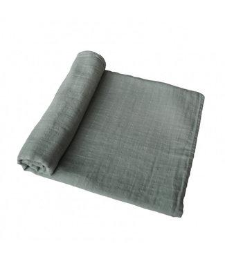 MUSHIE Mushie hydrofiele doek XL Roman green