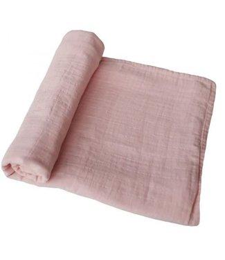 MUSHIE Mushie hydrofiele doek XL Rose vanille