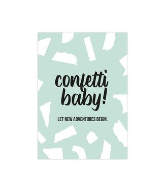 Studio Stationery Confetti Baby