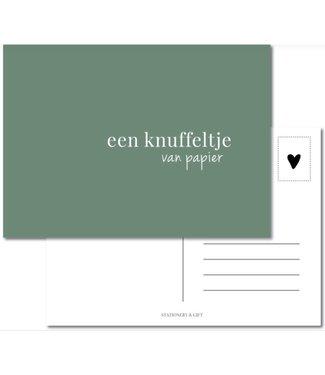 Stationery & Gift Knuffeltje van papier