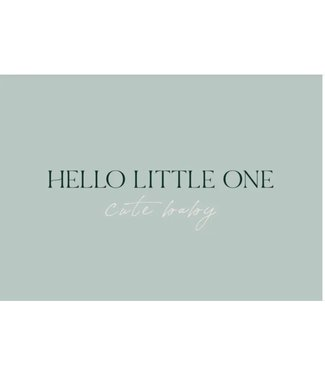 Stationery & Gift Hello little one cute baby