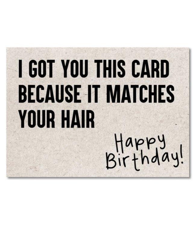 I Got You This Card