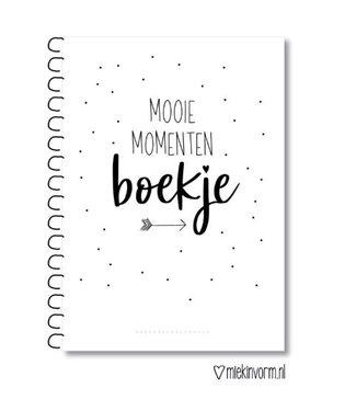 Miek in Vorm Mooie momenten boek