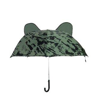 VAN PAULINE Paraplu groen distress