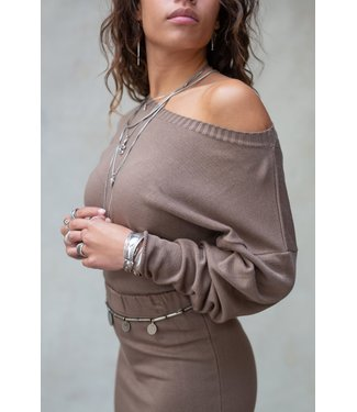 MOOST WANTED Moost wanted Bella sweater brown
