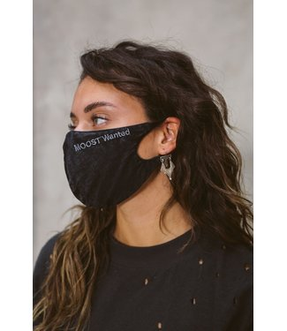 MOOST WANTED Mask Black