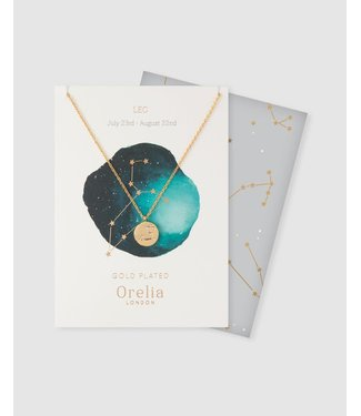 Orelia Horoscoop ketting Leeuw (21 juli - 22 aug)