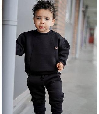 MAEKID Sweater Zwart