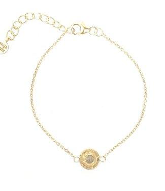 MUJA JUMA Labradoriet Gold Vermeil Armband