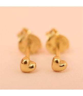 MUJA JUMA Earring Stud Tiny Heart