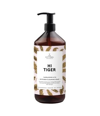 The Giftlabel Kitchen Cleaning Soap Hi Tiger