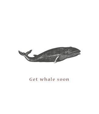 Moes & Griet Get Whale Soon A5 kaart