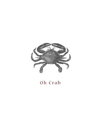 Moes & Griet Oh Crab A5 kaart