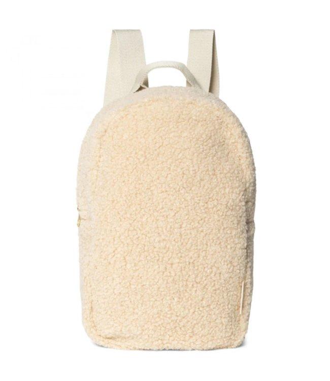 STUDIO NOOS Ecru noos mini chunky backpack