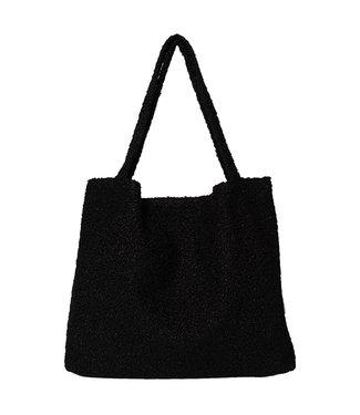 STUDIO NOOS Studio Noos Mom bag - Bouclé zwart