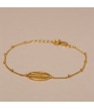 MUJA JUMA Bracelet Sun Handcraft Filigree Gold Plated