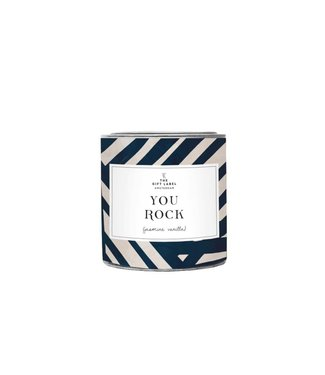 The Giftlabel Candle Big - You Rock