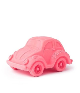 OLI & CAROL Bad- en bijtspeeltje- Roze kever