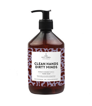 The Giftlabel Hand soap - Clean hands dirty minds