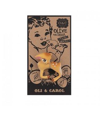 OLI & CAROL Bad-en bijtspeeltje - Olive the deer