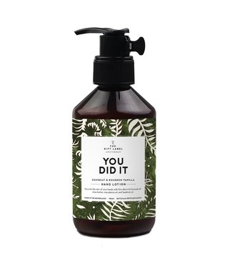 The Giftlabel Hand lotion - You did it