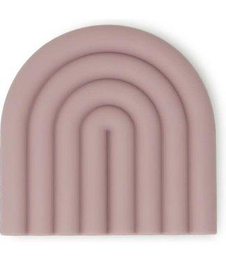 MUSHIE Bijtring regenboog Roze