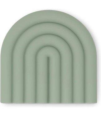 MUSHIE Bijtring regenboog Mint