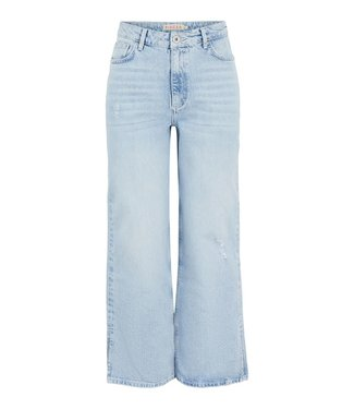 PIECES Sui Wide High waist Ankle Jeans