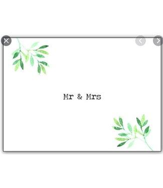 Mijn Kaartenhuisje MR & MRS
