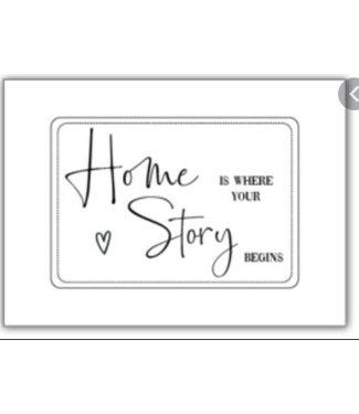 Mijn Kaartenhuisje Home is where your story begins