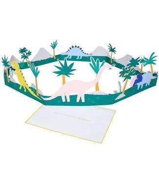 MERI MERI Have a dino- mite birthday 3D kaart