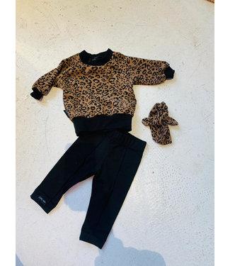 Little Lo newborn set leopard 50/56