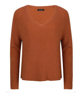 Ydence Tess sweater rust