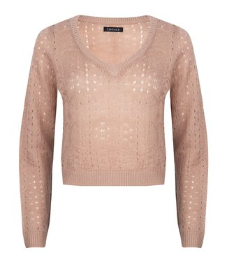 Ydence Knitted Sweater Savannah Soft Pink