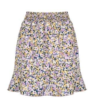 Ydence Skirt Meggy Lilac Flower Print