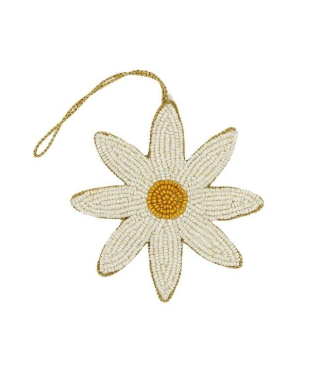 A LA Decoratieve hanger kralen daisy bloem