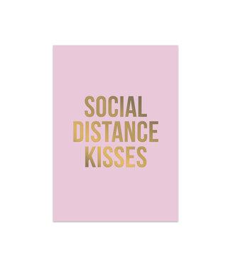 Studio Stationery Social distance kisses