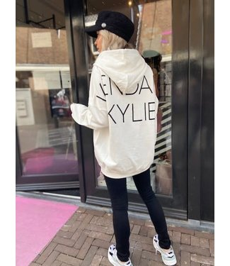 Kendall & Kylie Active oversized hoodie wit