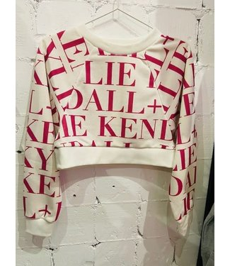 Kendall & Kylie Active Logo cropped sweater