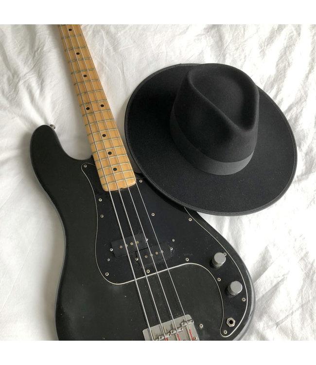 Feliz Rancher Fedora hoed Zwart