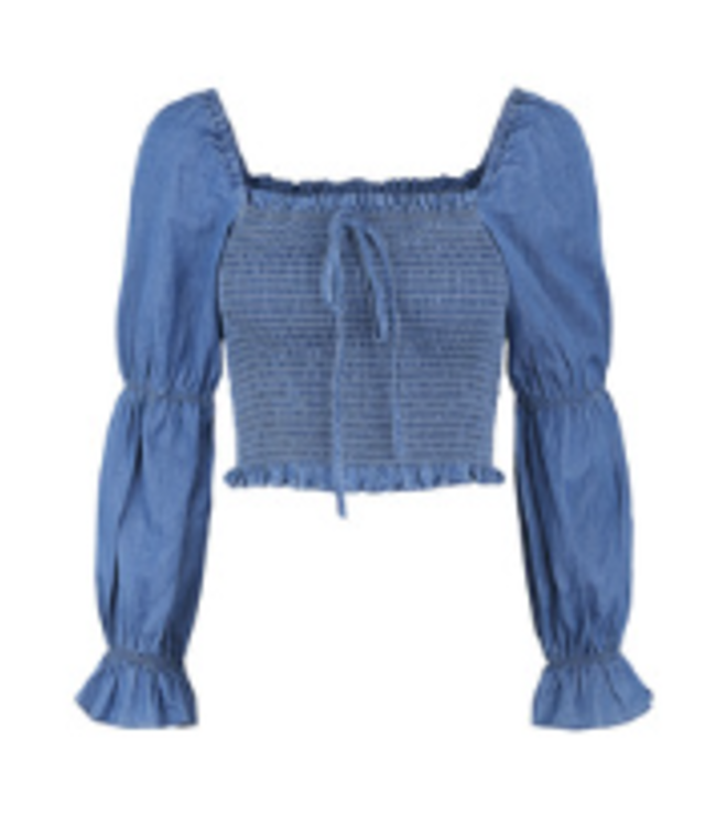 PIECES Tayla Cropped Top