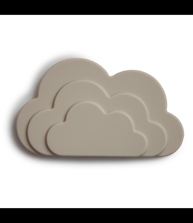 MUSHIE Zand Cloud bijtspeeltje