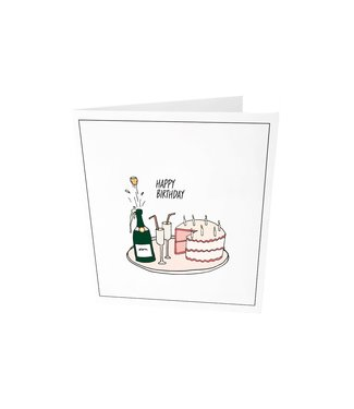 The Giftlabel Greeting card - Happy birthday