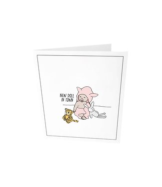 The Giftlabel Greeting card - New dude in town
