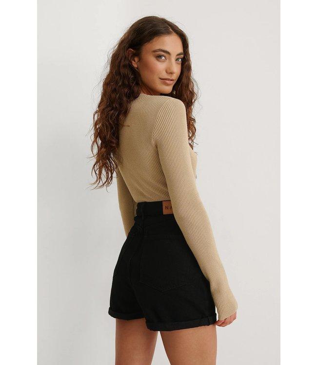 NAKD Fold up mom shorts