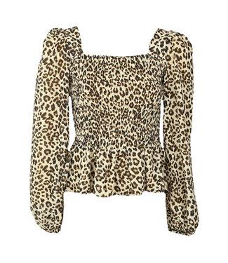PIECES Tia leopard top
