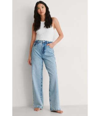 NAKD Vintage Look Wide Leg High Waist Jeans