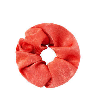 Rumah Scrunchie satin  feel rood