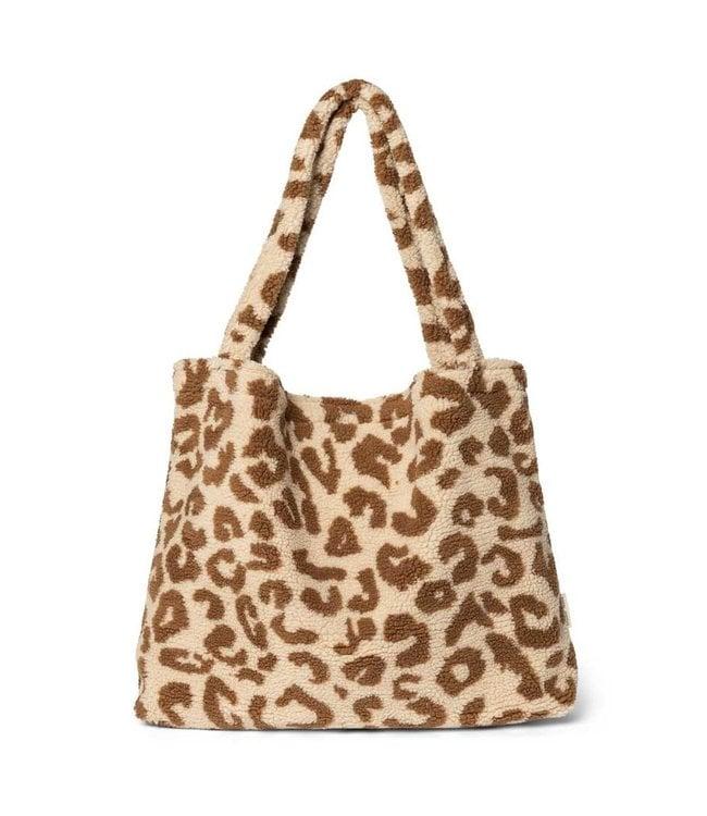 STUDIO NOOS Mom bag leopard ecru