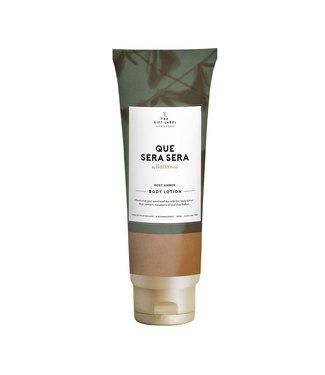 The Giftlabel Bodylotion tube Que sera sera - rose amber
